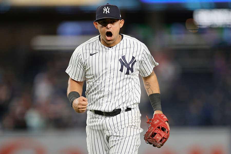 ヤンキースのルーグネッド・オドーア【写真:Getty Images】