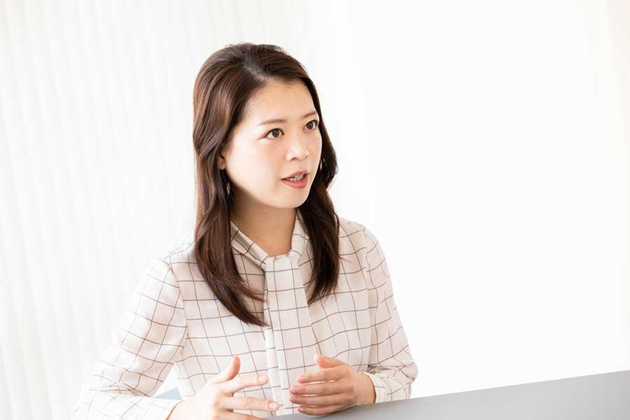 「THE ANSWER」では女性アスリートの健康問題について発信している鈴木明子さん【写真:松橋晶子】