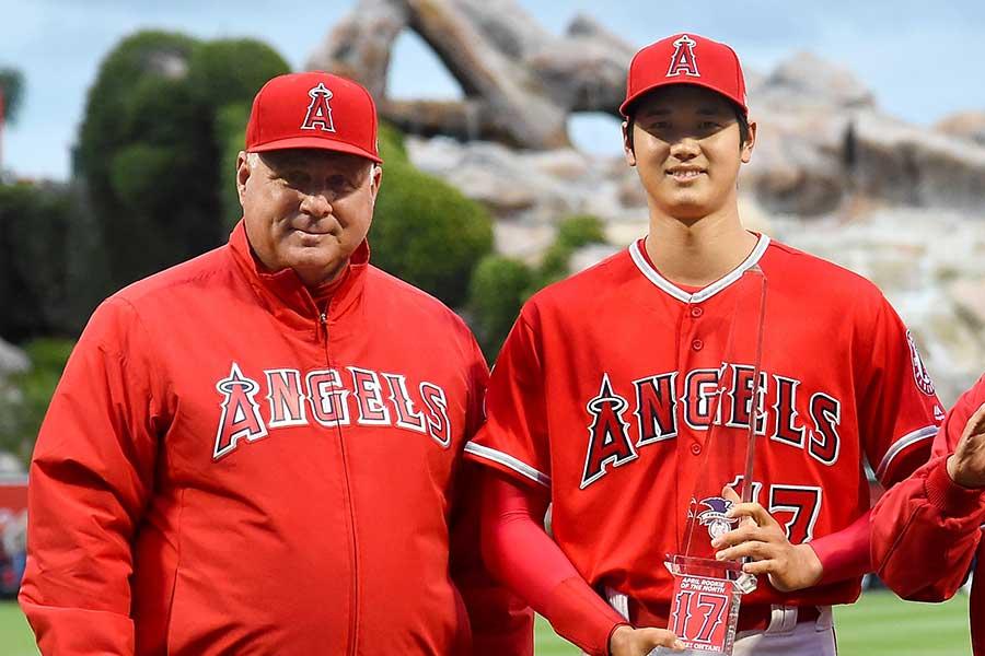 大谷翔平がエンゼルス1年目の2018年まで監督を務めたマイク・ソーシア氏