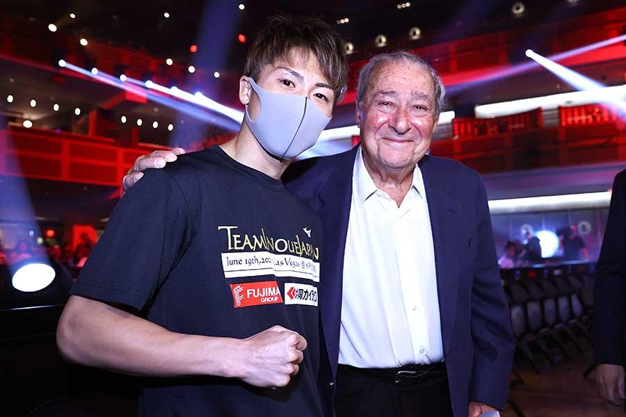井上尚弥(左)【写真:Getty Images】