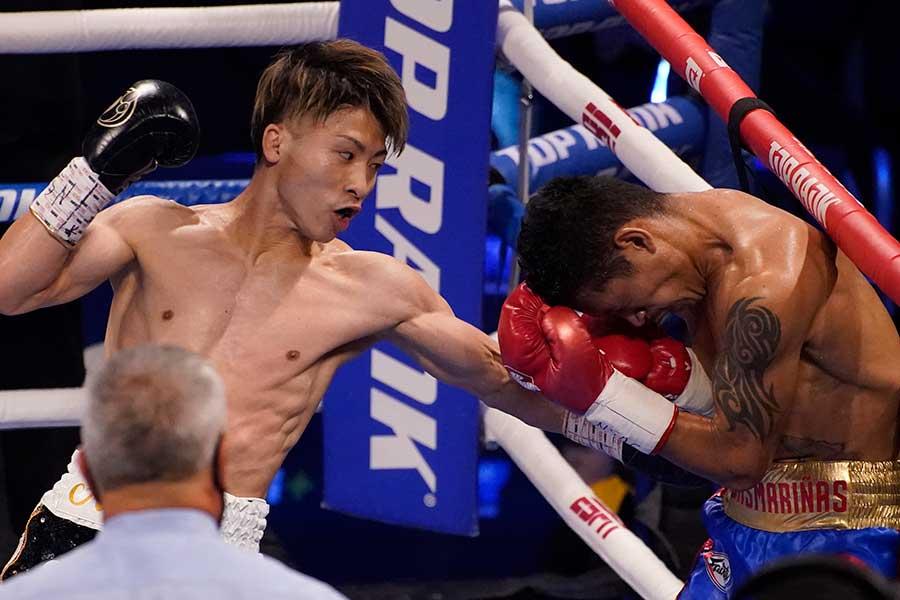井上尚弥(左)【写真:AP】