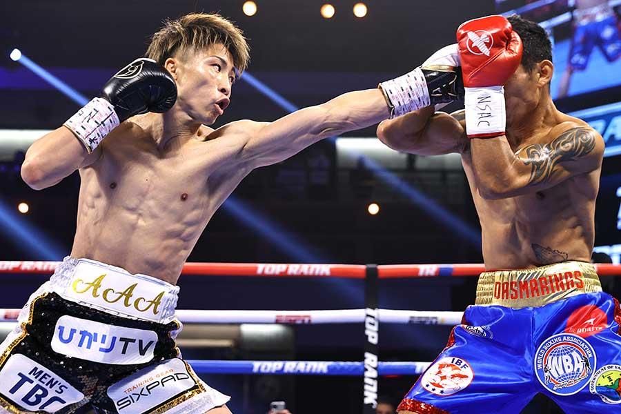 WBAスーパー&IBF世界バンタム級タイトルマッチ、井上尚弥はマイケル・ダスマリナスに3回TKO勝ちした【写真:Getty Images】