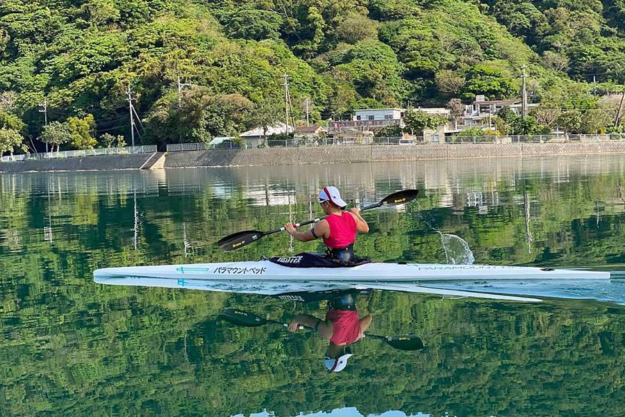 カヌー選手としてプレーしながら、医療の道へ背中を押した二つの出来事とは【写真提供:一般社団法人 ILC】