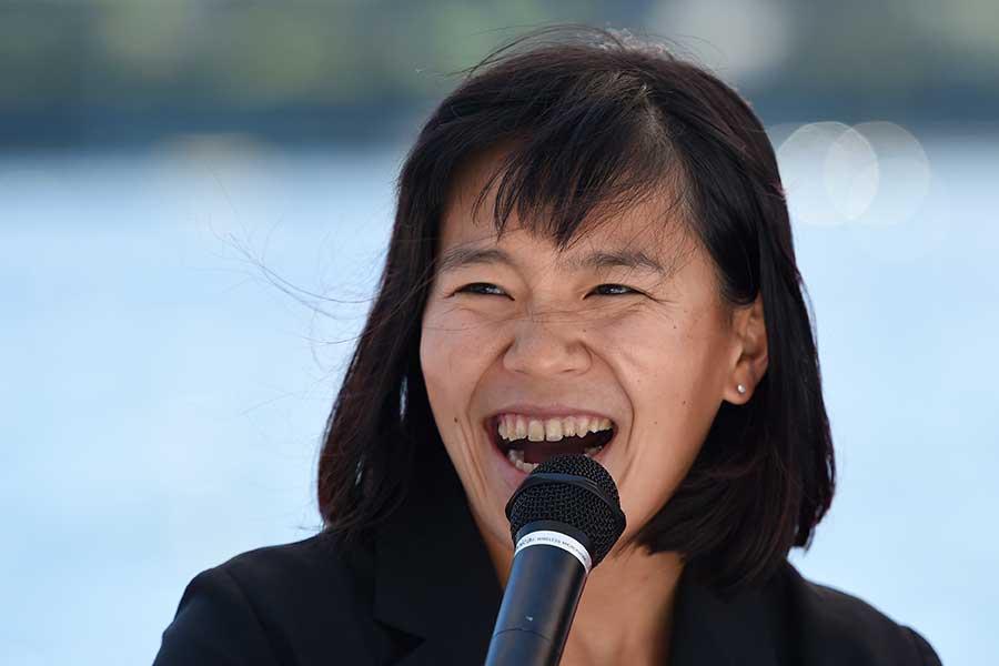 パラカヌー日本代表の瀬立モニカ【写真:Getty Images】