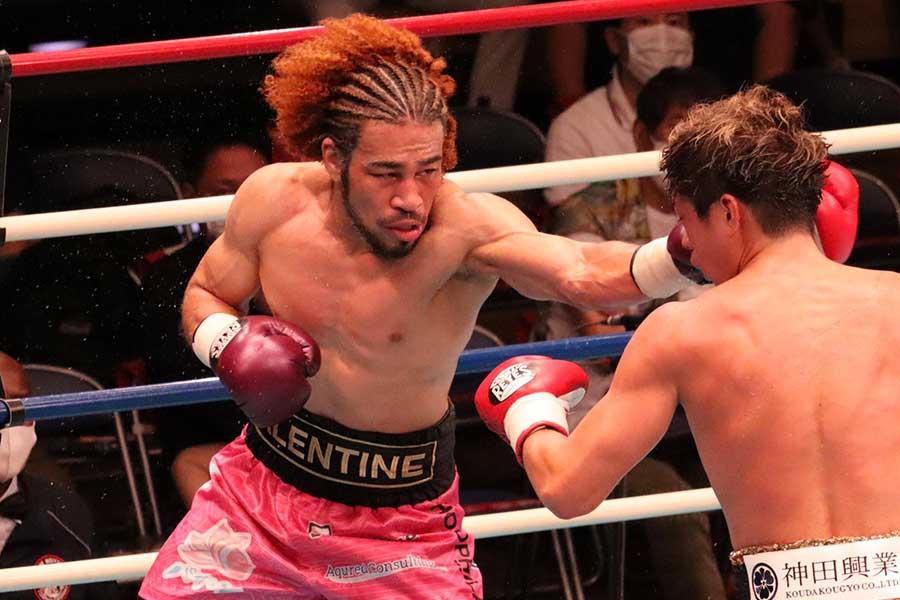 ボクシングの元日本スーパーライト級王者・細川バレンタインが40歳になっても戦う理由【写真:浜田洋平】