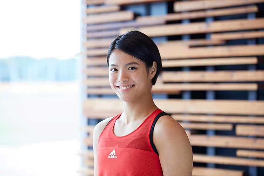 東京オリンピック代表、阿部詩のアスリート人生を変えるほどの転機とは【写真:長谷川明】