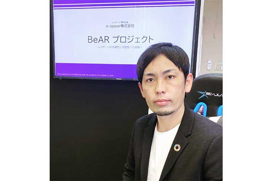 熊本で2社の社長になった元ロッテ香月さん。画期的な取組「BeARプロジェクト」に取り組んでいる【写真:本人提供】