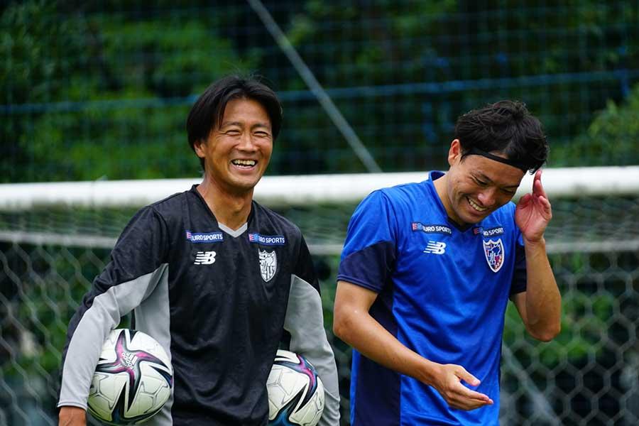 現在はFC東京でコーチを務める佐藤由紀彦さん【写真提供:FC東京】