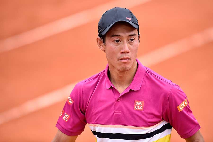 東京五輪テニス男子代表の錦織圭【写真:Getty Images】