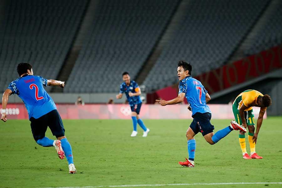 日本代表は南アフリカと対戦し、1-0で勝利した【写真:Getty Images】