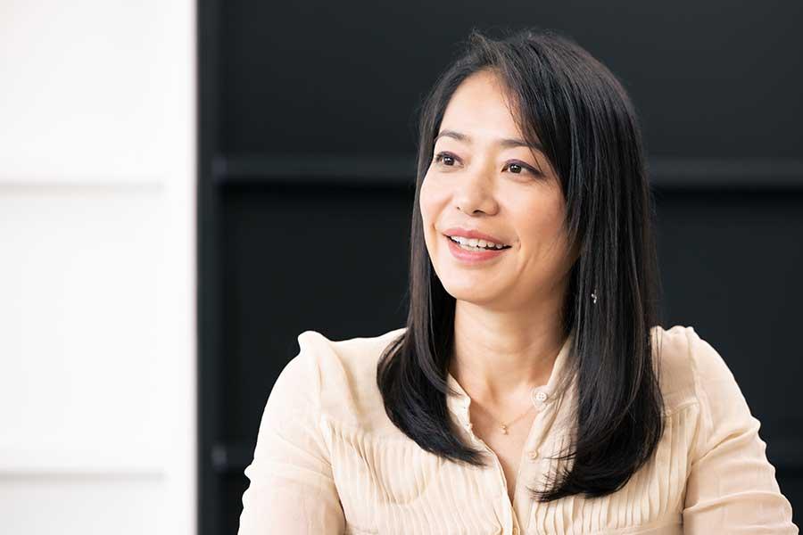 引退後、ユニセフで働く理由について語った井本直歩子さん【写真:松橋晶子】