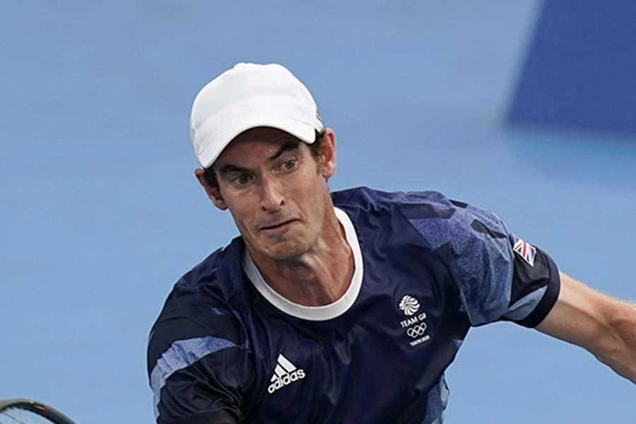 東京五輪のテニス英国代表アンディ・マレー【写真:AP】