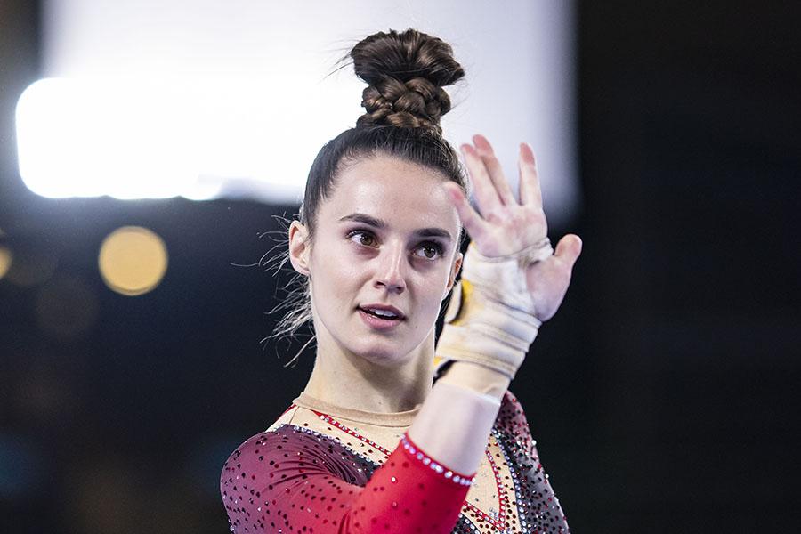 体操のドイツ代表パウリーネ・シェーファー【写真:Getty Images】