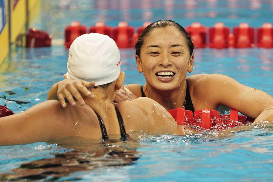 「女性アスリートと月経」の問題について競泳の伊藤華英さん想いを明かした【写真:Gettyy Images】
