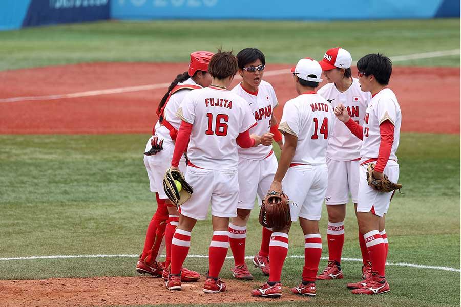 ソフトボール日本代表【写真:Getty Images】