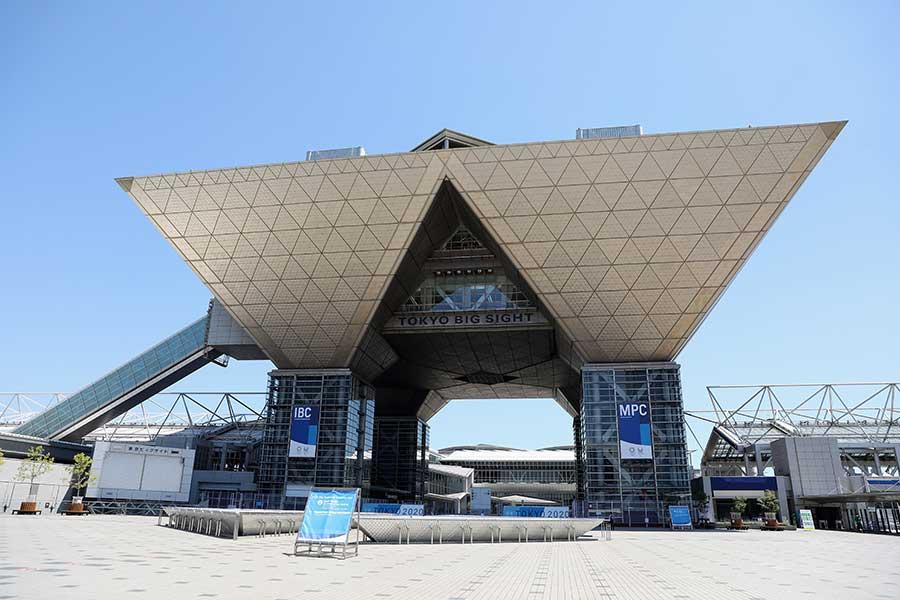国際放送センターが設置されている東京ビッグサイト【写真:Getty Images】