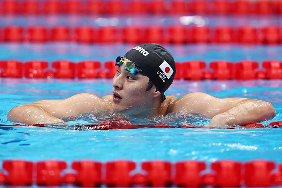 男子200メートル個人メドレー予選、全体16位で予選通過した瀬戸大也【写真:Getty Images】