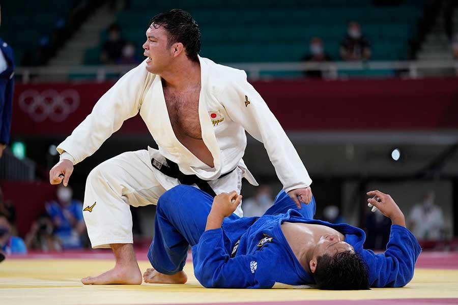 柔道男子100キロ級で金メダルに輝いたウルフ・アロン【写真:AP】