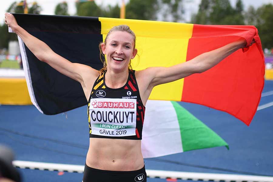 ベルギー代表のポーリン・クーカイト【写真:Getty Images】