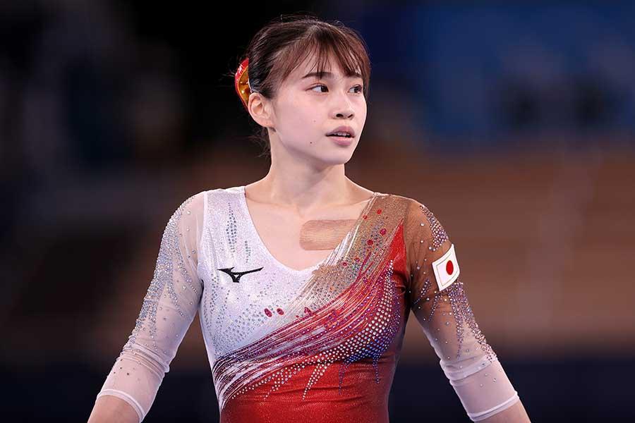 体操女子日本代表の杉原愛子【写真:Getty Images】