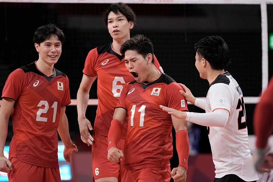 バレーボール男子日本代表の死闘に田中マルクス闘莉王氏も熱くなった【写真:AP】