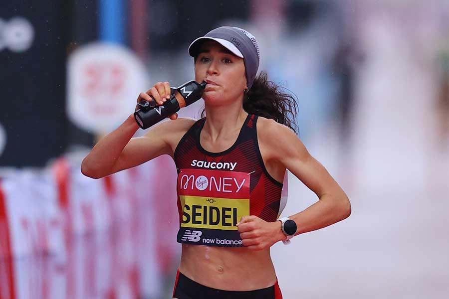 女子マラソン米国代表のモリー・セイデル【写真:Getty Images】