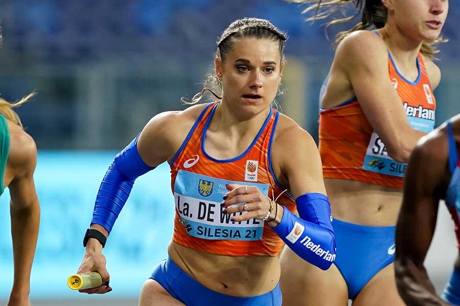 オランダ女子陸上代表のラウラ・デウィッテ【写真:Getty Images】