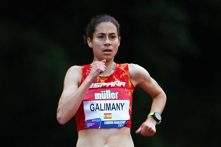 スペイン女子マラソン代表のマルタ・ガリマニ【写真:Getty Images】