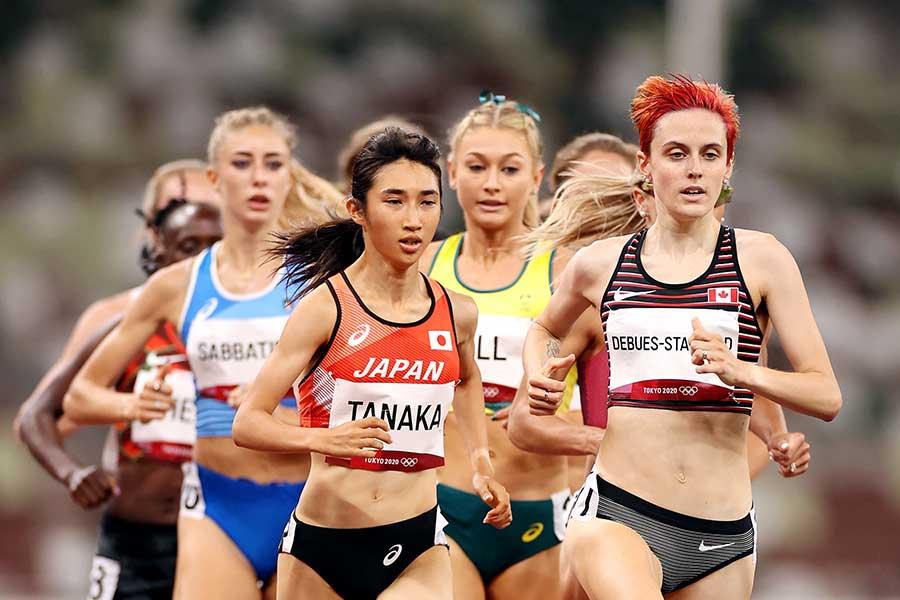 女子1500メートル準決勝で日本記録を更新した田中希実【写真:Getty Images】
