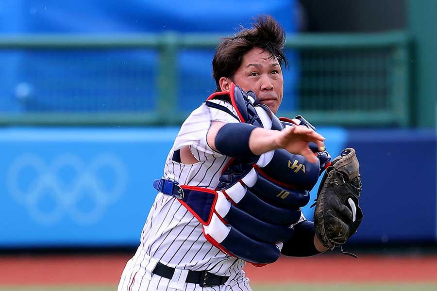 日本代表の甲斐拓也【写真:Getty Images】