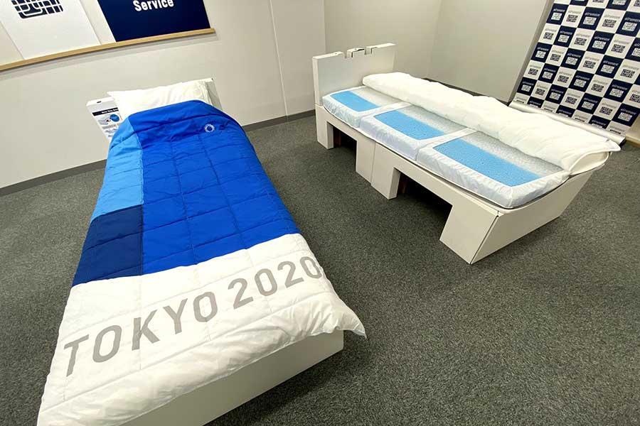 エアウィーヴ社は五輪初の寝具パートナーとなった