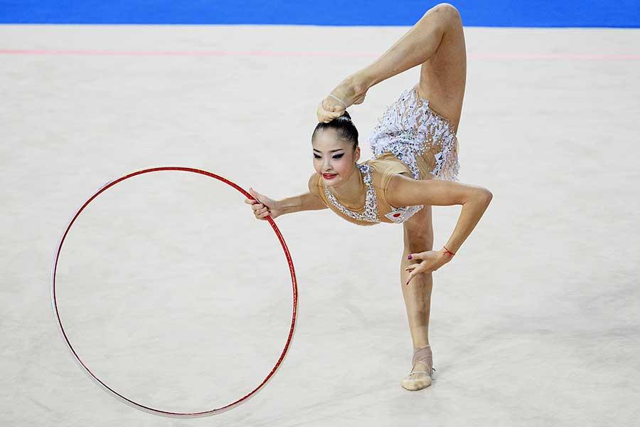 皆川夏穂が経験した厳しいロシアの体重管理システム【写真:Getty Images】