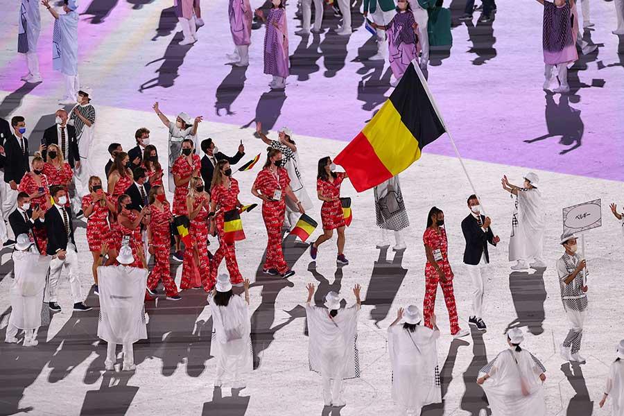 ベルギー代表チームに届いた手紙が注目されている【写真:Getty Images】