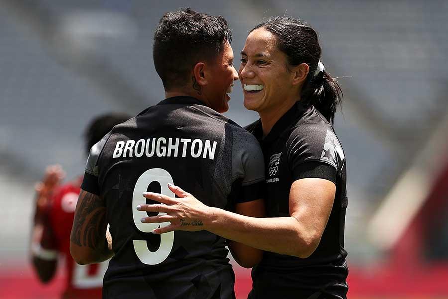 ニュージーランド代表のシーレイ・カカ【写真:Getty Images】