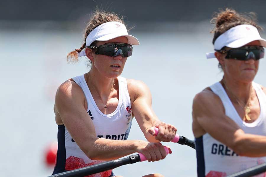 ボート女子、英国代表のエミリー・クレイグ【写真:Getty Images】