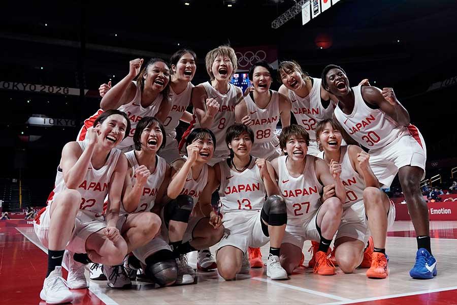 バスケットボール女子は、金メダルの偉業に向けて米国に挑む【写真:AP】