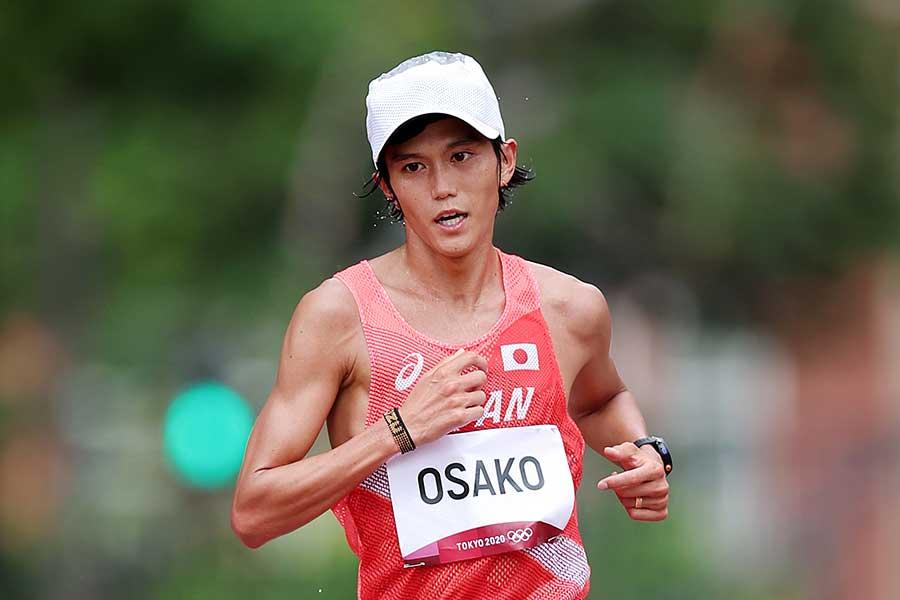 男子マラソンに出場し、6位で完走した大迫傑【写真:Getty Images】