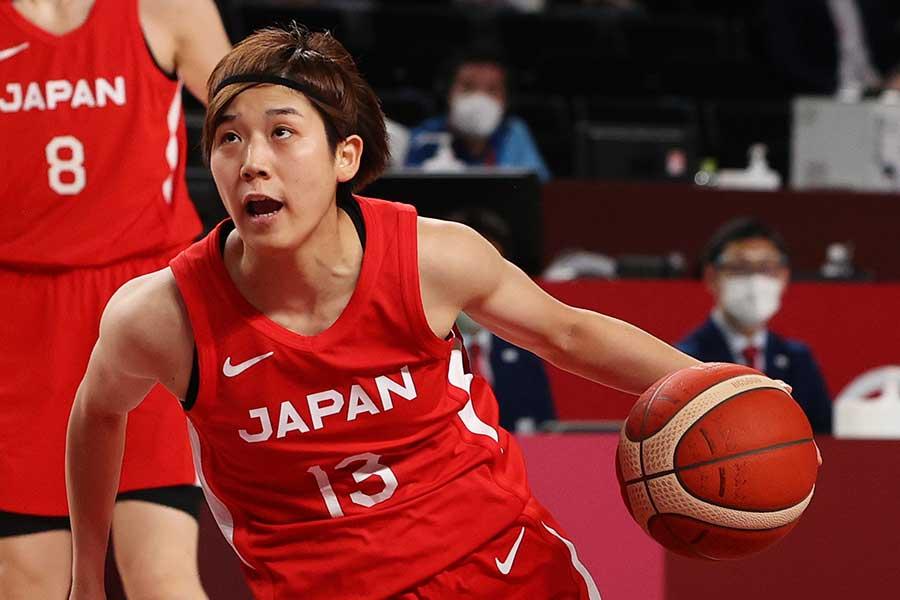 バスケットボール日本代表の町田瑠唯【写真:Getty Images】