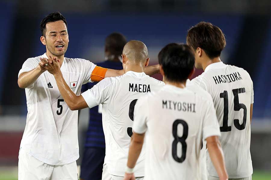 サッカー日本代表の主将を務める吉田麻也【写真:Getty Images】