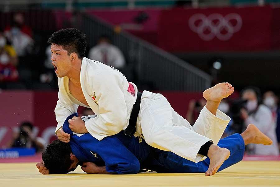 柔道男子73キロ級で五輪連覇を成し遂げた大野将平【写真:AP】