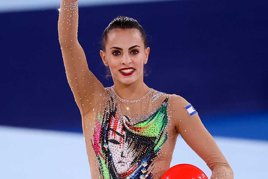 女子新体操、イスラエル代表のリノイ・アシュラム【写真:Getty Images】