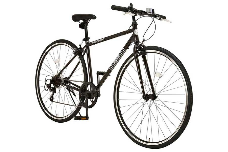 ロッテが受注販売を開始したマリーンズオリジナル自転車(クロスバイク)【写真:球団提供】