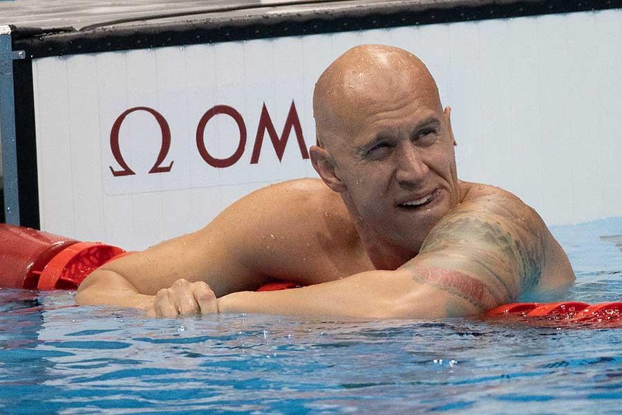 競泳カナダ代表のブレント・ヘイデン【写真:Getty Images】