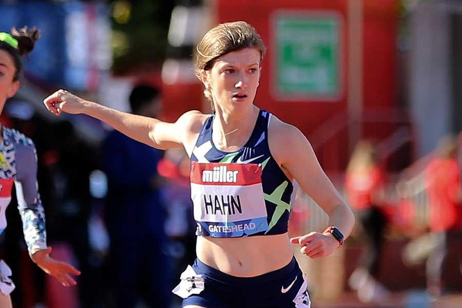 陸上女子100&200m(T38)の世界記録保持者ソフィー・ハーン【写真:Getty Images】