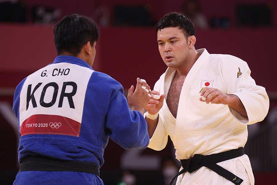 柔道男子100キロ級で金メダルを獲得したウルフ・アロン【写真:Getty Images】