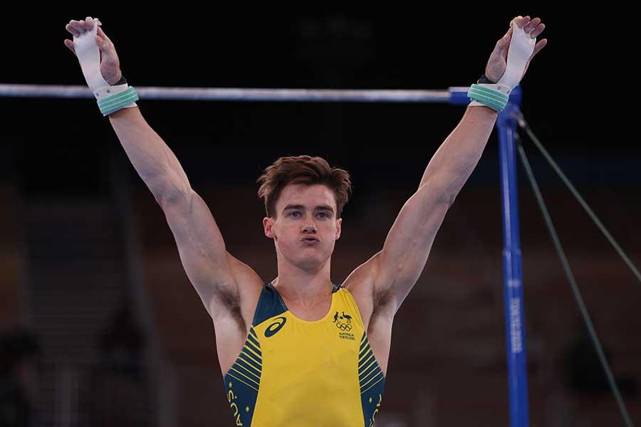 体操、オーストラリア代表のタイソン・ブル【写真:Getty Images】