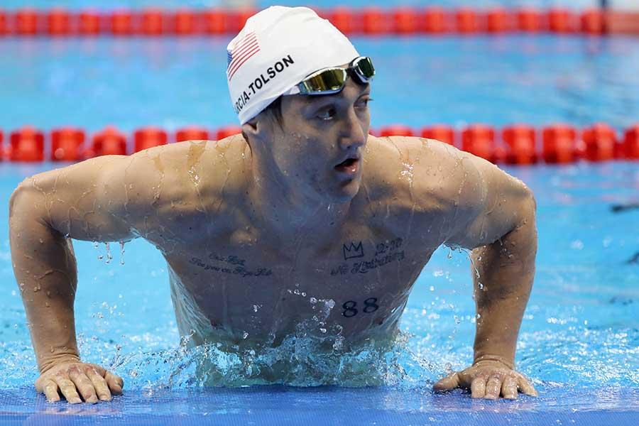 米国の競泳男子代表ルディ・ガルシア・トルソン【写真:Getty Images】