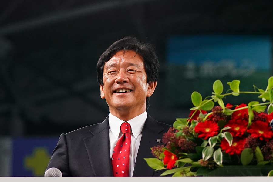 日本ハムの栗山英樹監督(写真は2017年12月撮影)【写真:Getty Images】