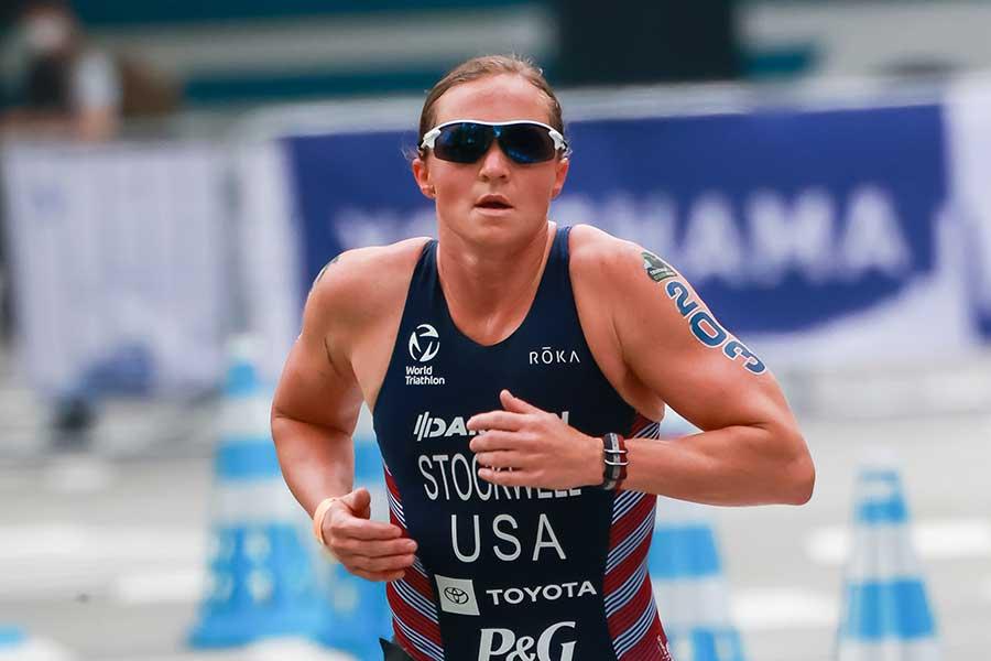 トライアスロン、米国代表のメリッサ・ストックウェル【写真:Getty Images】