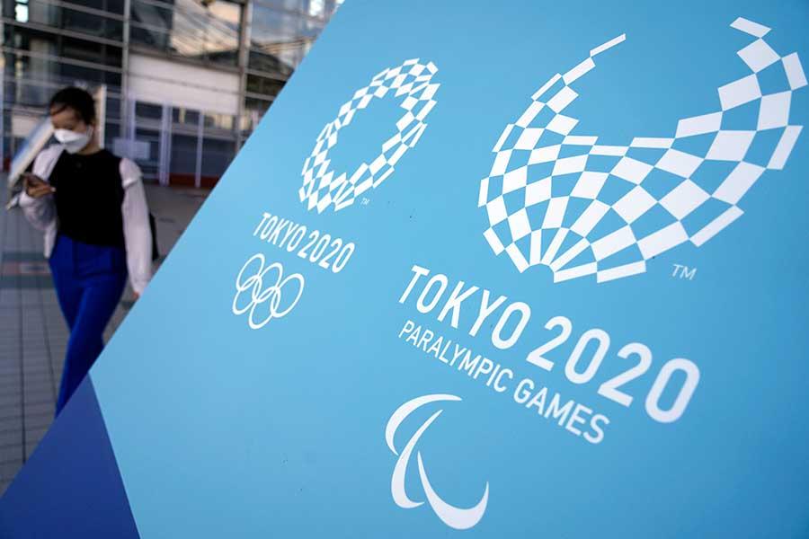 カナダ選手はバス移動で見られる東京の景色に感銘を受けたようだ【写真:AP】